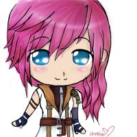 chibi lightning by tifa005