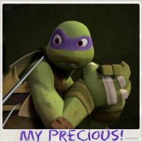 TMNT:: Donnie: My Precious by Culinary-Alchemist
