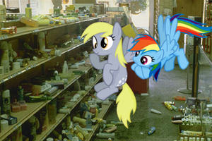 Derpy Shampoo Shopping by Darkkon13