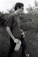 Sam at the Apple Orchard by StolenSecrets