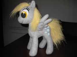 Derpy Hooves Plush by MaewynShadowtail