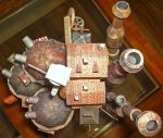Howl's Castle Top View by Dreamparacite