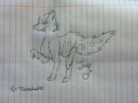 Jay (Gift for thecoolwolf11) by AzwickTheNightfury