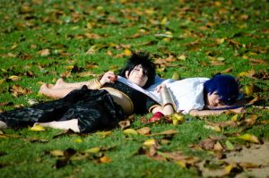 Sleeping Magi: Judal and Aladdin by Tora-rin