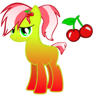 Pony Adopt- Cherry Themed by LoveSongStables