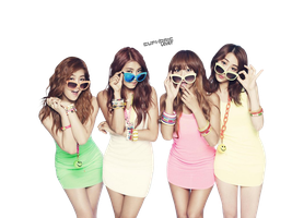 Sistar PNG by euphoriclover