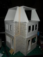 Les Shoppes Dollhouse Project: WIP 9 by kayanah