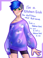 'Cus I'm a kitchen sink by Caelumish