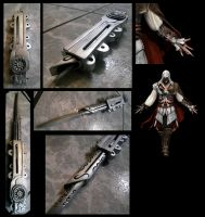 Assassins Creed II hiden blade by alsquall
