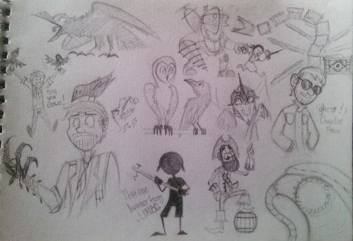some random doodles i guess by G-R-O-X