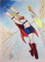 Supergirl 2 colored by SSGJoey