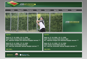Job Heijman Tennis by: MH-Desi by WebMagic