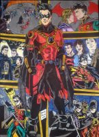 DC NEW 52 - RED ROBIN by GabRed-Hat