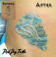 Nikky Swan Tattoo by Reddogtattoo
