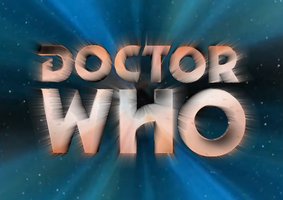 Doctor Who 50th Anniversary Logos: Eighth Doctor by BlackLanternDaddy