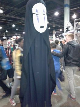 Anime Central 2017 Cosplay :  no face by blueappleheart89