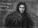 Jon Snow by live-your-dreamss
