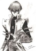 Quick.Old sketch XD:Seto Kaiba by CupidYamiVolta