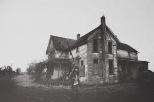 abandoned house by phoenix-phantom