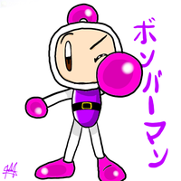 Shirobon Bomberman by SailorBomber