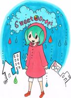 Sweet Drops Hatsune Miku by KhaleMudkipLamp