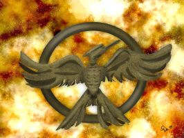 Hunger Games Pin Study by Quelonzia