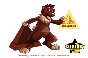 Toblerone Mascot - Bear by Silberry