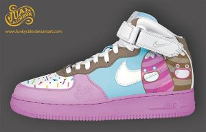 Choco sneakers by funkycide