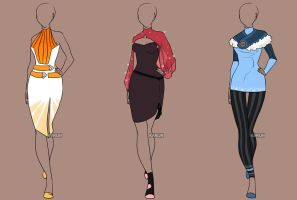 Fashion Adoptables Auction 12 - OPEN by Karijn-s-Basement