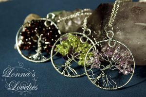 Wire wrapped Tree of Life by lonna2000