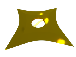 Brass weapon by Aapur