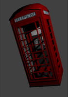 London Red Telephone Box by RhysTabor
