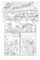 Avengers: EMH # 12 - page 1 pencils by TimLevins