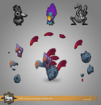 Bodoo-do! NPC enemy by DiegoHelterSkelter