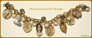 Native American Girl Bracelet by Bojo-Bijoux