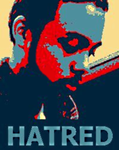 Hatred - Obamafied poster by DJ-Shrike