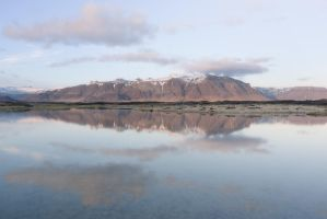 Reflections in Iceland by oprust