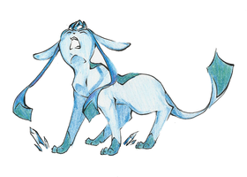 Glaceon by pichuspokeball