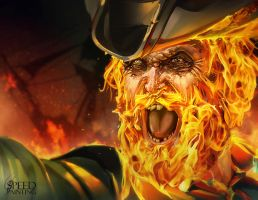 Fire beard by raynnerGIL