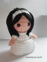 First Communion Amigurumi 1 by Xaxipidudi