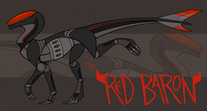 CLOSED | Adoptable: THE RED BARON .:AUCTION:. by RukaSwift