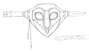 steampunk armor design- second mask design by MechanicalHyena