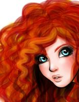 Queen Merida by RashaHJ