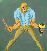 Brock Samson by glennsapien