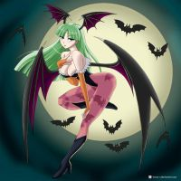 Morrigan Aensland by Kawa-V