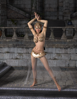The belly dancer by core972
