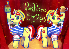 He's Flim! He's Flam! by Scarlet-Songstress