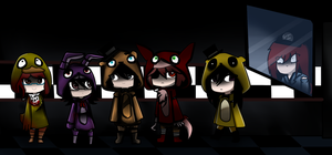 Five night's at freddy's by Invaderdaniela
