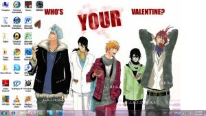 Bleach - Who's Your Valentine? by kazura-uyurin