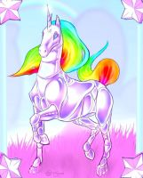 ALWAYS.  Robot Unicorn Attack. by Shalinka